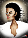 Cartoon: Michael Jackson (small) by saadet demir yalcin tagged mj syalcin sdy saadet turkey music