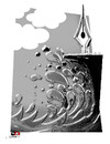 Cartoon: sadness-2 (small) by saadet demir yalcin tagged syalcin
