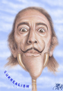 Cartoon: DALI  SURREALISM (small) by T-BOY tagged dali,surrealism
