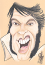 Cartoon: ELVIS (small) by T-BOY tagged elvis