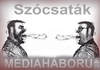 Cartoon: MEDIA WAR 2 (small) by T-BOY tagged media,war