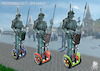 Cartoon: MODERN PATROL (small) by T-BOY tagged modern,patrol