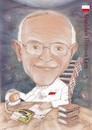 Cartoon: STANISLAV HERMAN LEM (small) by T-BOY tagged stanislav,herman,lem