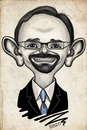 Cartoon: John Bass (small) by K E M O tagged john,bass,ambassador,georgia,usa,caricature