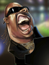 Cartoon: Steve Wonder (small) by K E M O tagged kemo,steve,wonder,caricature,portrait