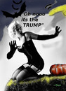 Cartoon: american halloween 2016 (small) by wheelman tagged halloween,us,election,trump