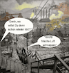 Cartoon: ehekrise (small) by wheelman tagged ehe,beziehung,krise,drama,flucht,luft,dreck