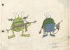 Cartoon: alien army 1 (small) by engin SELCUK tagged alliens