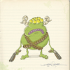 Cartoon: alien army 2 (small) by engin SELCUK tagged alliens