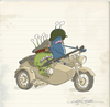 Cartoon: alien army 3 (small) by engin SELCUK tagged alliens