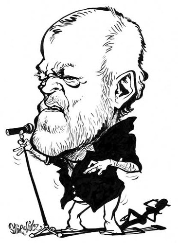 Cartoon: Joe Cocker (medium) by stieglitz tagged joe,cocker,karikatur,caricature,caricatura
