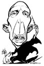 Cartoon: Ralph Fiennes Voldemort (small) by stieglitz tagged ralph,fiennes,voldemort,karikatur,caricature