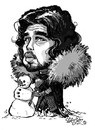 Cartoon: Winters coming - jippeeeee! (small) by stieglitz tagged jon,snow,kit,harington,game,of,thrones,karikatur,caricature,caricatura