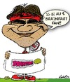 Cartoon: Olympic Federer (small) by BRAINFART tagged roger,federer,tennis,spiel,sport,karikatur,funny,comic,humor