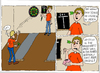 Cartoon: Vereinsmeierei (small) by Wolfgang tagged darts auge 501 vereine