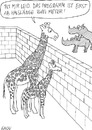 Cartoon: Giraffen und Nashörner (small) by KAYSN tagged giraffe,nashorn