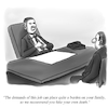 Cartoon: Fake Death (small) by Billcartoons tagged business,work,boss,job,career,management,leadership