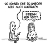 Cartoon: sexismus (small) by Hannes Richert tagged sexismus,rassismus,fdp,stern,brüderle,bar,kneipe