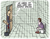 Cartoon: sexismus (small) by Hannes Richert tagged sexismus,brüderle,klo,frau,mann