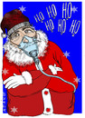 Cartoon: Santa Contaminacion (small) by adancartoons tagged adan,navidad