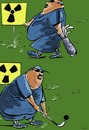 Cartoon: nuclear energy (small) by oguzgurel tagged humor