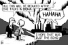 Cartoon: Doha Climate Conference 2012 (small) by sinann tagged doha,climate,change,talks,laugh,pollution