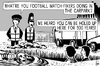 Cartoon: Football matchfixers (small) by sinann tagged football,matchfixers,richard,the,third,carpark,hide