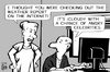 Cartoon: iCloud hack (small) by sinann tagged icloud,hacking,celebrities,naked