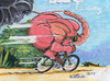 Cartoon: pink elephant (small) by cartuneman tagged cartoon