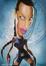 Cartoon: Angelina Jolie (small) by zaliko tagged angelina,jolie