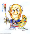 Cartoon: Pablo Picasso (small) by zaliko tagged pablo,picasso