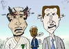 Cartoon: Gadaffy Assad Annan caricature (small) by laughzilla tagged political,cartoon,editorial,comic,webcomic,kofi,annan,muammar,gadaffi,khadafi,gadafi,gadaffy,bashar,assad,laughzilla,thedailydose,caricature,syria,libya,un,united,nations,leaders,outgoing