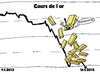 Cartoon: Baisse en or caricature (small) by BinaryOptions tagged or,lingots,valeur,chute,prix,baisse,option,binaire,options,binaires,trade,optionsclick,caricature,economie,economique,nouvelles,affaires,financier