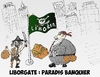 Cartoon: Liborgate et drapeau Liboria (small) by BinaryOptions tagged libor,liborgate,liboria,cariacture,option,binaire,trader,options,binaires,trading,scandale,pirate,banquier,banques,optionsclick,news,infos,nouvells,financier,boursier