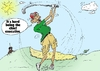 Cartoon: President Obama golf caricature (small) by BinaryOptions tagged binary,option,options,trade,trader,trading,optionsclick,politics,chief,executive,barack,obama,caricature,webcomic,comic,cartoon,editorial,financial,budget,political,news