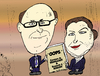 Cartoon: Reinhart Rogoff caricature (small) by BinaryOptions tagged reinhart,rogoff,economistes,economie,erreur,theorie,echoue,option,binaire,options,binaires,trader,optionsclick,caricature,infos,news,actualites,nouvelles,affaires,economique,financier