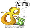 Cartoon: Acht Fünf (small) by wambolt tagged humor,numbers,colors,cartoon