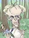 Cartoon: Klaus Kinski (small) by wambolt tagged film,caricature,genius,crazy,movies