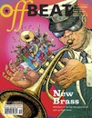 Cartoon: Offbeat Magazine Cover (small) by wambolt tagged music,jazz,neworleans,brassbands,louisiana,magazine,cover
