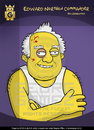 Cartoon: Eduard I Shevardnadze (small) by gamez tagged edika,gamez,georg,george
