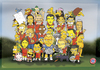 Cartoon: FCB players with Simpsons (small) by gamez tagged the simpsons fc bayern felix