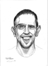Cartoon: Frank Ribery (small) by gamez tagged fc,bayern,bundesligamez,france