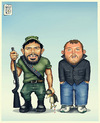 Cartoon: Hunter Rati (small) by gamez tagged gamez,georg,george