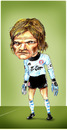 Cartoon: Oliver Kahn (small) by gamez tagged fc bayern germany