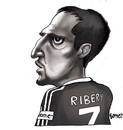 Cartoon: SpieLeR (small) by gamez tagged frank ribery france player spieler bayern munich cartoon caricature