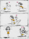 Cartoon: Tarzan und Jane (small) by Ridha Ridha tagged one,of,my,old,cartoons,tarzan,und,jane,by,ridha