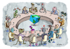 Cartoon: The United Nations in 3016 (small) by Ridha Ridha tagged the,united,nations,cartoon,ridha