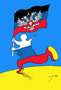 Cartoon: Attack (small) by tunin-s tagged attack