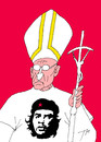 Cartoon: The Pope in 2015 (small) by tunin-s tagged pope