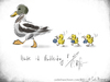 Cartoon: Muttertag 2015 (small) by Carlo Büchner tagged mutter,muttertag,mama,momsday,2015,mai,may,mom,mum,ente,duck,chick,küken,flowers,blumen,feiern,danke,liebe,love